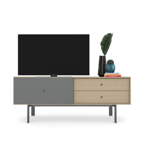 5229 Cabinet in Drift Oak Fog Grey