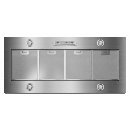 """Gallery - 48"""" 585 or 1170 CFM Motor Class Custom Hood Liner - Stainless Steel"""