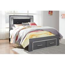 B214 Full LED Storage Bed (Lodanna)