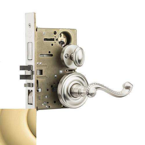 Baldwin - Non-Lacquered Brass Bristol Sectional Entrance Set