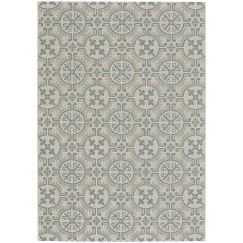 Finesse-Tile Spa Machine Woven Rugs