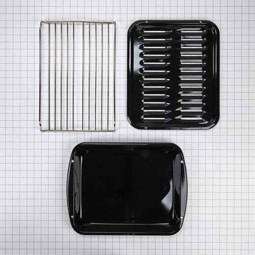 Maytag - Premium Broiler Pan and Roasting Rack