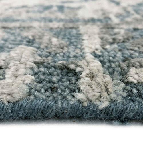 "Capel Rugs - Makrana Mineral Blue - Rectangle - 3'6"" x 5'6"""