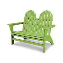 Lime Vineyard Adirondack Bench