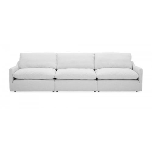 VIG Furniture - Divani Casa Lennon - Transitional White Fabric Sectional Sofa Set
