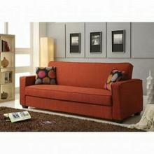 ACME Shani Adjustable Sofa - 57072 - Red Linen