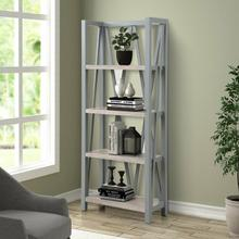See Details - AMERICANA MODERN - DOVE Etagere Bookcase