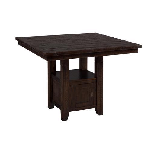Jofran - Kona Grove Counter Table W/(6) Slatback Stools
