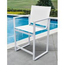 View Product - Renava Kayak - Modern White Outdoor Counter Stool