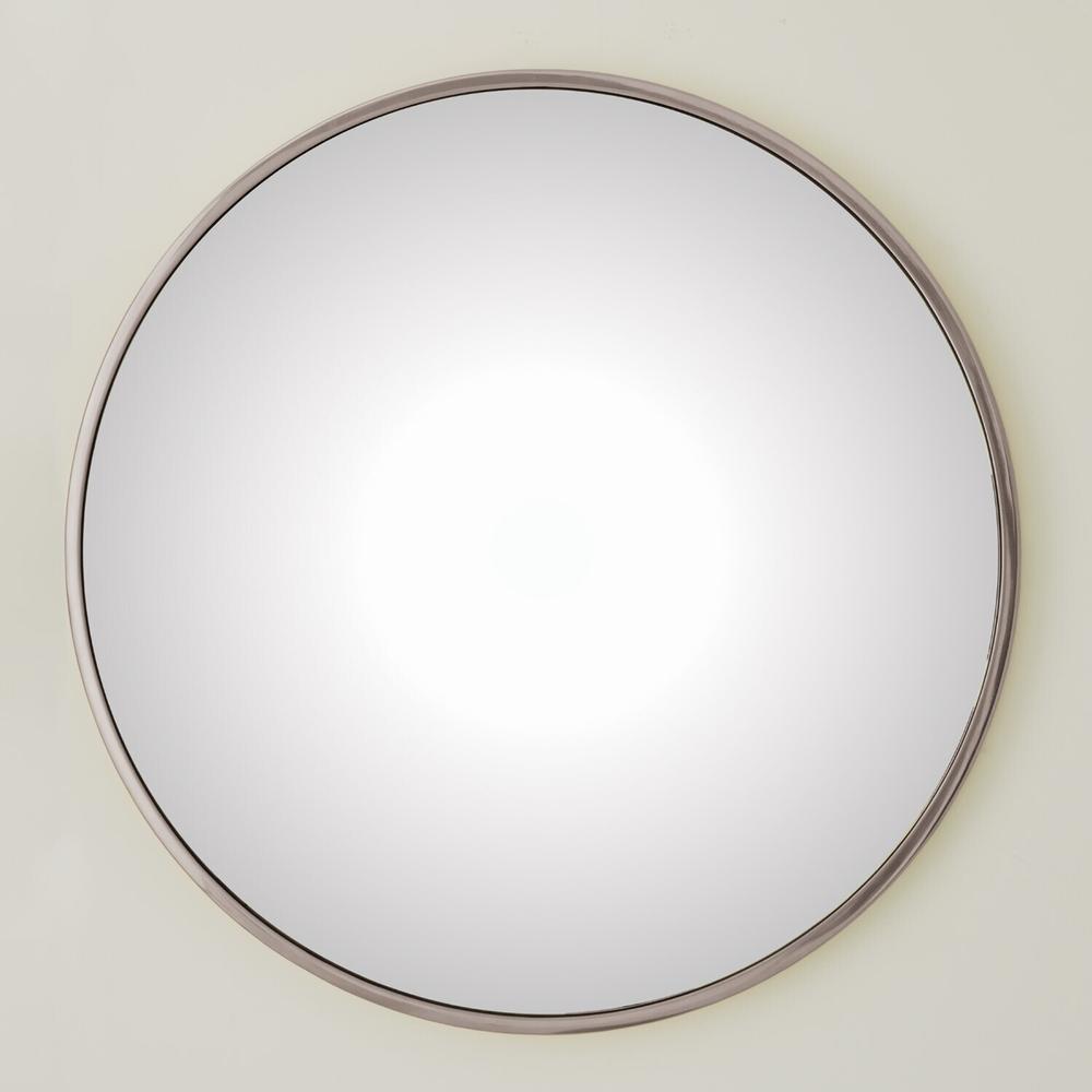 See Details - Hoop Convex Mirror-Nickel-Lg