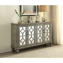 ACME Velika Console Table - 90280 - Weathered Gray