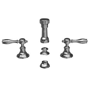 Gloss Black Bidet Set