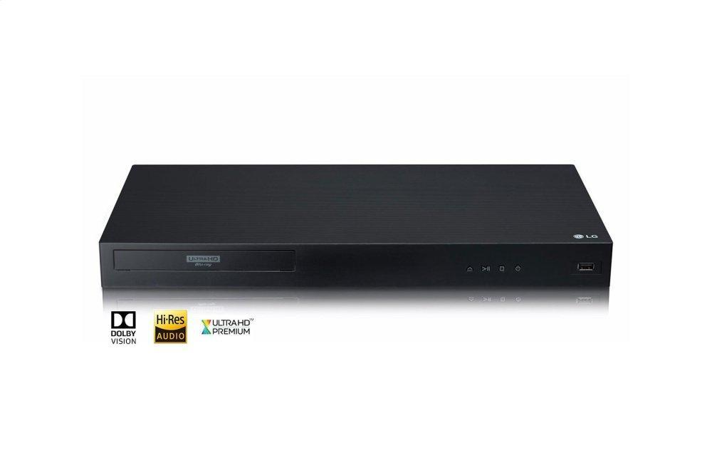 LG Appliances4k Ultra-Hd Blu-Ray Disc™ Player With Dolby Vision®