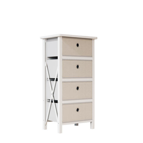 Malouf - Bria - 4 drawer Fabric Storage Chest