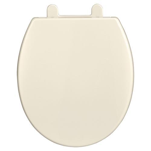 Telescoping Round Front Luxury Toilet Seat  American Standard - Linen