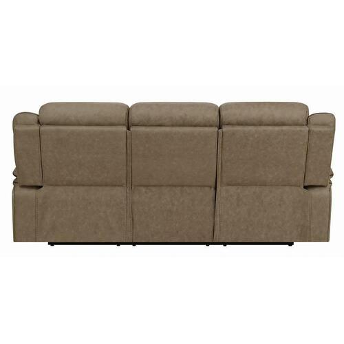 Coaster - Houston Casual Tan Motion Sofa