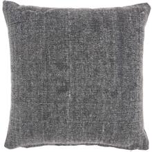 "Life Styles Gt626 Charcoal 18"" X 18"" Throw Pillow"