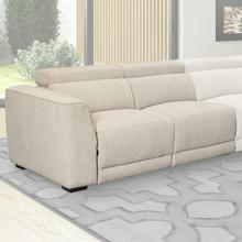 See Details - NOHO - BISQUE Power Left Arm Facing Loveseat