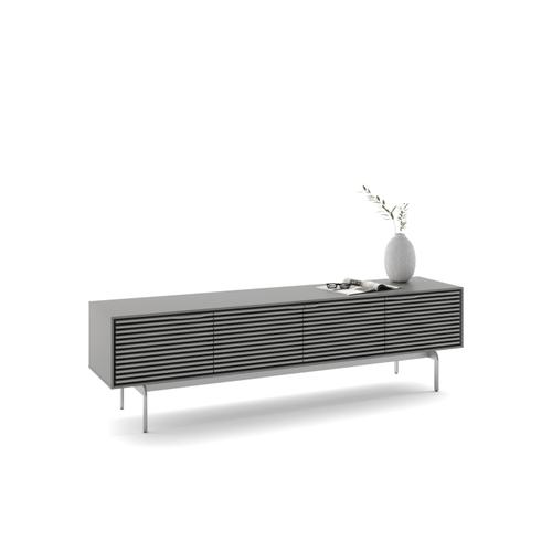 BDI Furniture - Align 7473 Media + Storage Console in Fog Grey Console Base
