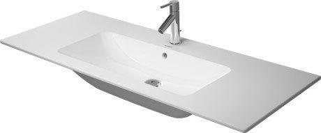 Additional Me By Starck Furniture Washbasin 2 Faucet Holes Pre-marked With Large Distance Between Faucets