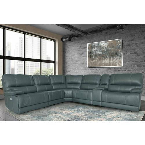 Parker House - SHELBY - CABRERA AZURE Power Modular Sectional