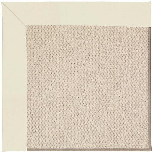 "Creative Concepts-White Wicker Canvas Ivory - Rectangle - 24"" x 36"""