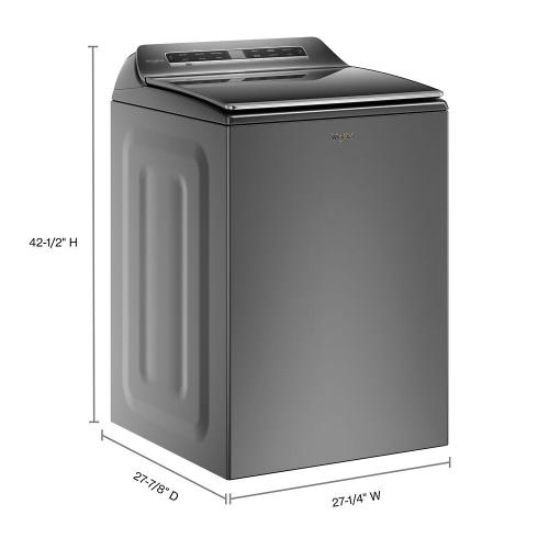 Whirlpool - 5.3 cu. ft. Smart Top Load Washer