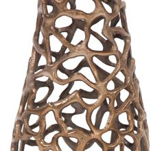 View Product - Bronze Aluminum Branch Vase, Small