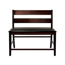 See Details - Counter Height Bench with Back