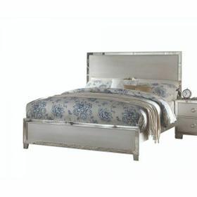 ACME Voeville II Queen Bed - 24840Q - Platinum
