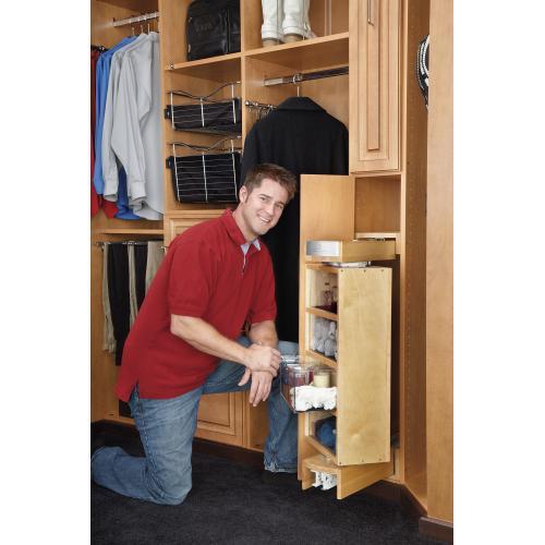 Rev-A-Shelf - CAG-081642-1 - Gentleman's Closet Armoire