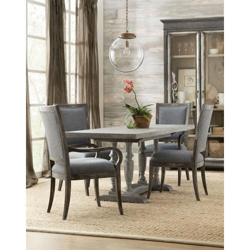 Dining Room Beaumont Upholstered Arm Chair - 2 per carton/price ea