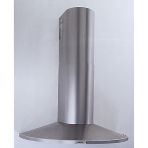 "35-7/16"" (90cm) Stainless Steel Chimney Hood, 370 CFM Internal Blower Product Image"