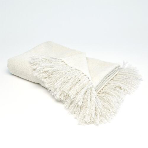 See Details - Manta Throw-Ivory
