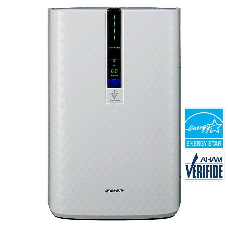 Sharp True HEPA Plasmacluster Air Purifier with Humidifying Function for Medium Rooms