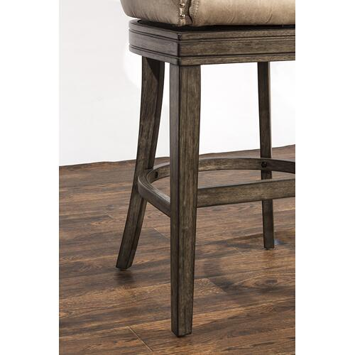 Caydena Swivel Return Memory Bar Stool