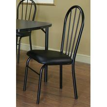 Ebony Chairs 4pk