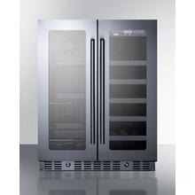 "24"" Built-in Wine/beverage Center, ADA Compliant"