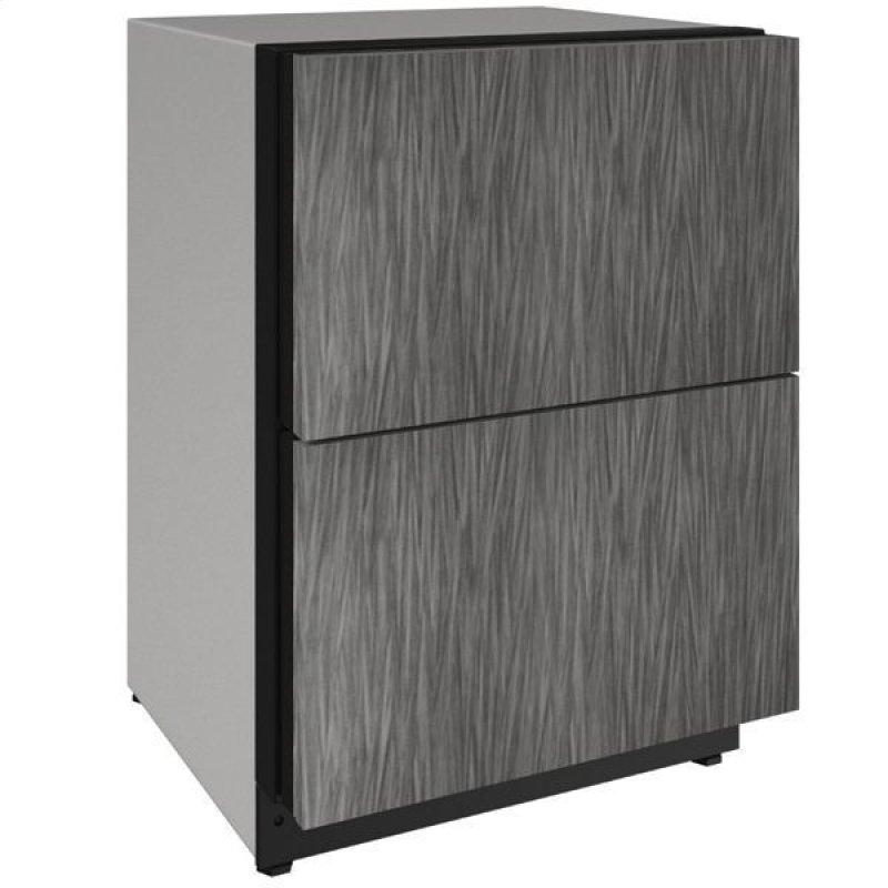 """2224dwr 24"""" Refrigerator Drawers With Integrated Solid Finish (115 V/60 Hz Volts /60 Hz Hz)"""
