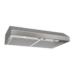 BroanBroan® 24-Inch Convertible Under-Cabinet Range Hood, Stainless Steel