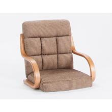 Oak/caramel Tweed Fabric Chair Top 2pk