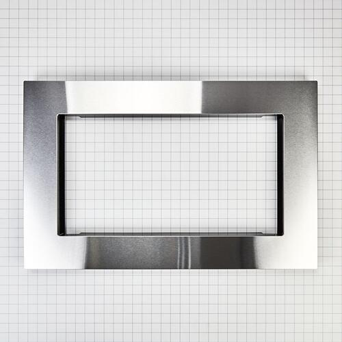 Maytag - Over-The-Range Microwave Trim Kit, Anti-Fingerprint Stainless Steel
