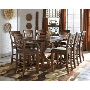 Gallery - RECT DRM Counter EXT Table with 4 chairs