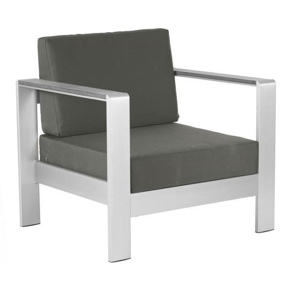 See Details - Cosmopolitan Arm Chair Cushion Dark Gray