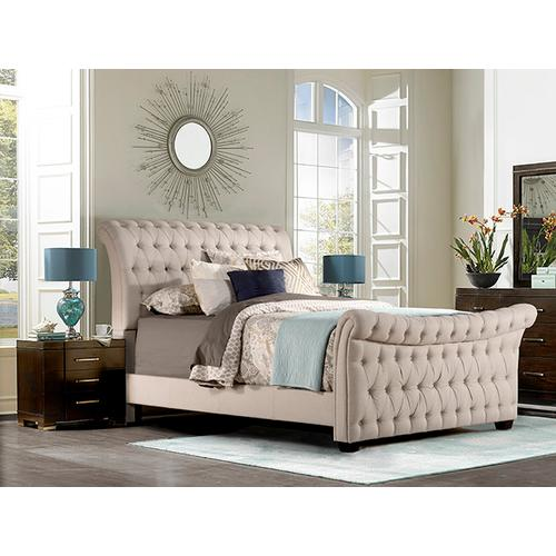 Gallery - Richmond King Bed, Linen Stone