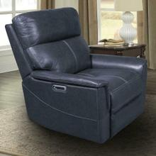View Product - REED - INDIGO Power Recliner