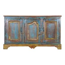 Antique Wood Sideboard Ue28