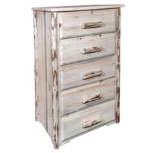 View Product - Montana Collection 5 Drawer Chest of Drawers