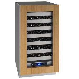 "U-LineHwc518 18"" Wine Refrigerator With Integrated Frame Finish and Field Reversible Door Swing (115 V/60 Hz Volts /60 Hz Hz)"