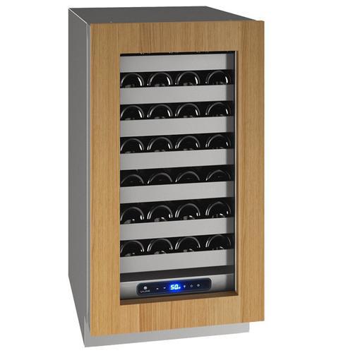 "U-Line - Hwc518 18"" Wine Refrigerator With Integrated Frame Finish and Field Reversible Door Swing (115 V/60 Hz Volts /60 Hz Hz)"